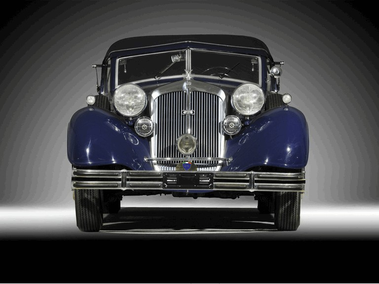 1937 Horch 853 A sport cabriolet 341093