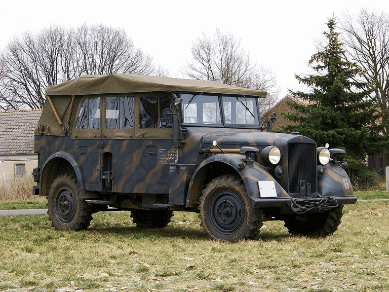 1937 Horch 901 Kfz 15 Free high resolution car images