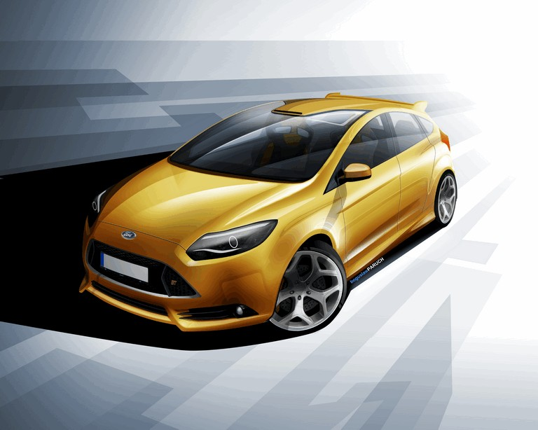 2011 Ford Focus ST 312422