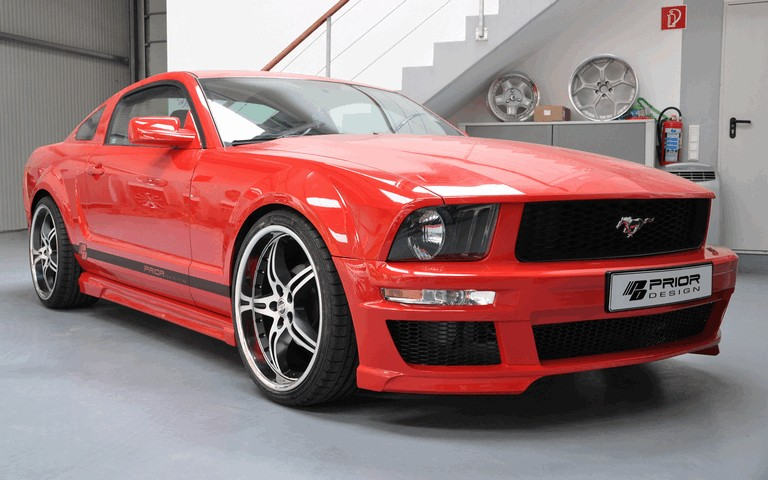 2011 Ford Mustang aerodynamic kit by Prior Design 315633