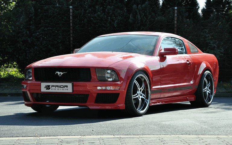 2011 Ford Mustang aerodynamic kit by Prior Design 315641
