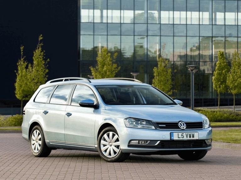 2010 Volkswagen Passat BlueMotion variant - UK version 316039