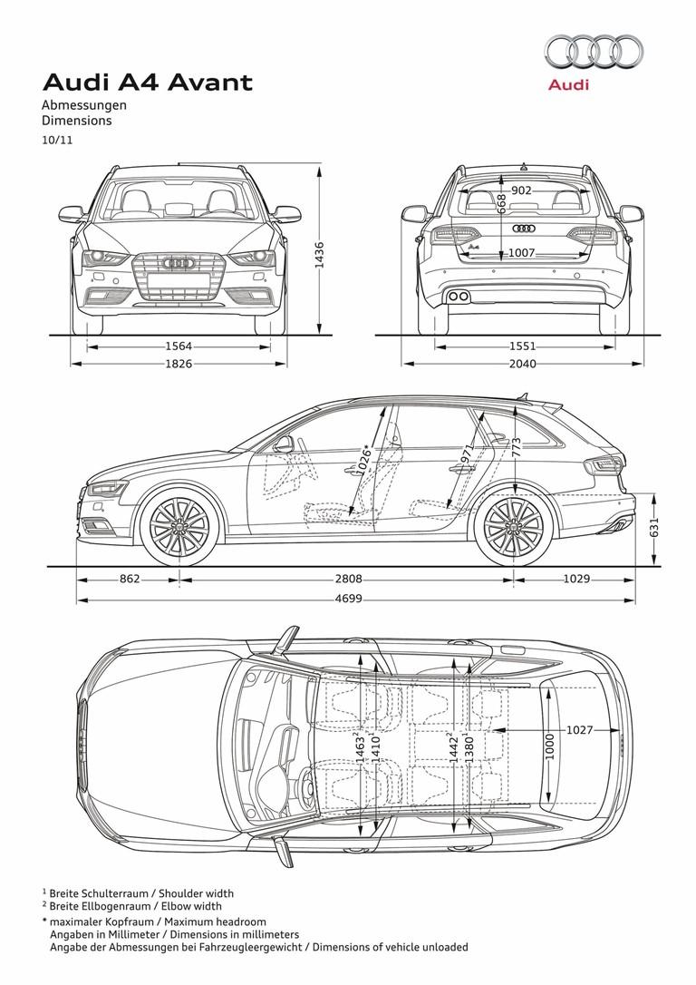 2012 Audi A4 Avant 319921