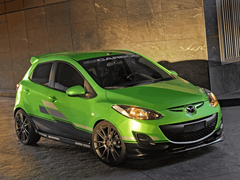 2011 Mazda 2 by 3dCarbon 320691