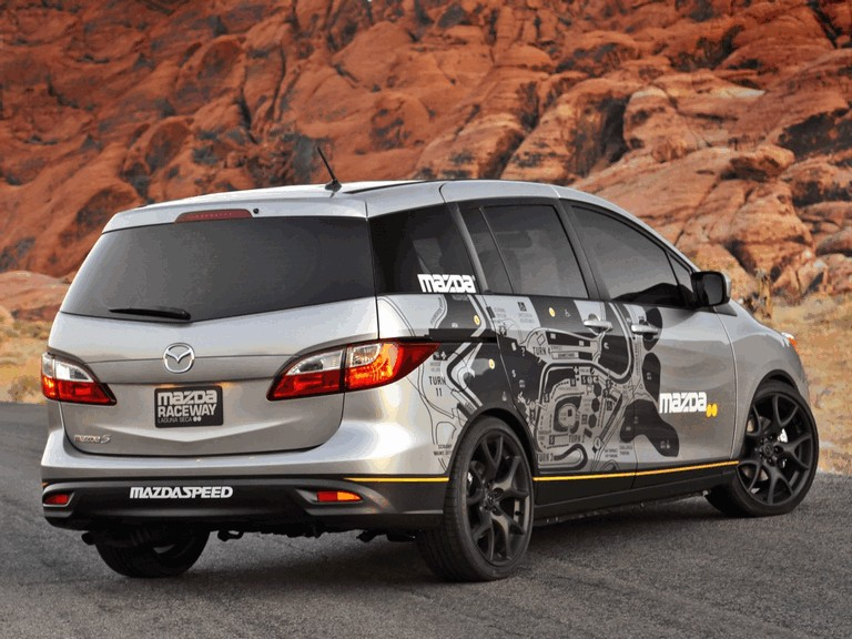 2011 Mazda 5 MRLS support vehicle 320704