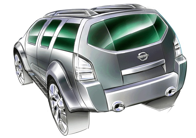 2003 Nissan Dunehawk concept 321610