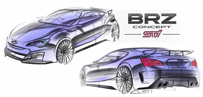 2012 Subaru BRZ concept STI 323936
