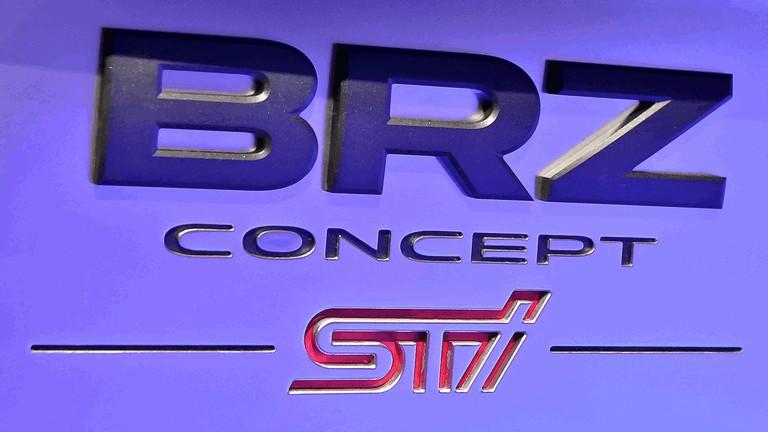 2012 Subaru BRZ concept STI 323957