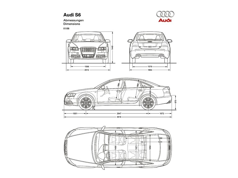 2006 Audi S6 211015
