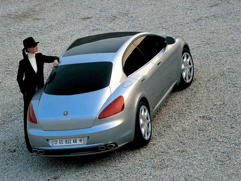 2004 Alfa Romeo Visconti concept by Italdesign 333161