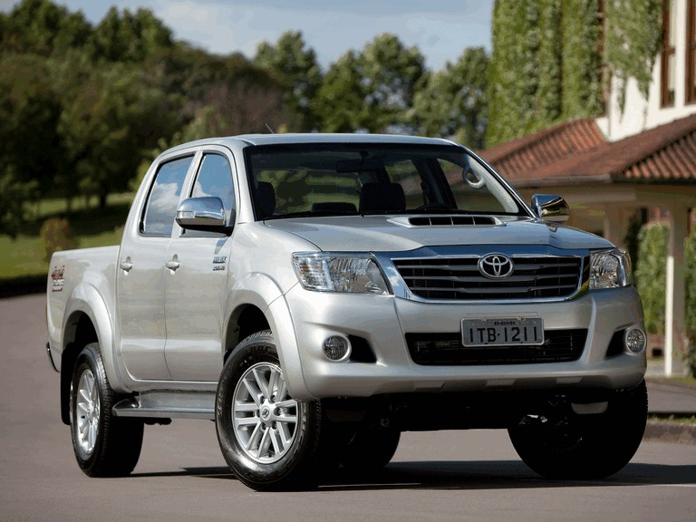 2012 Toyota Hilux SRV Double Cab 333627