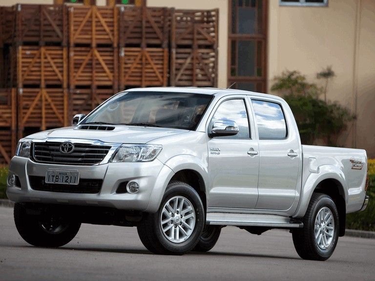 2012 Toyota Hilux SRV Double Cab 333629