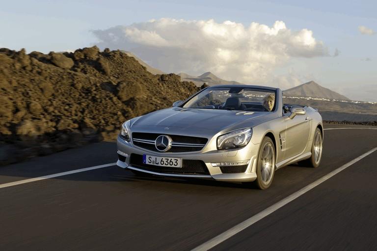 2012 Mercedes-Benz SL ( R231 ) 63 AMG 336387