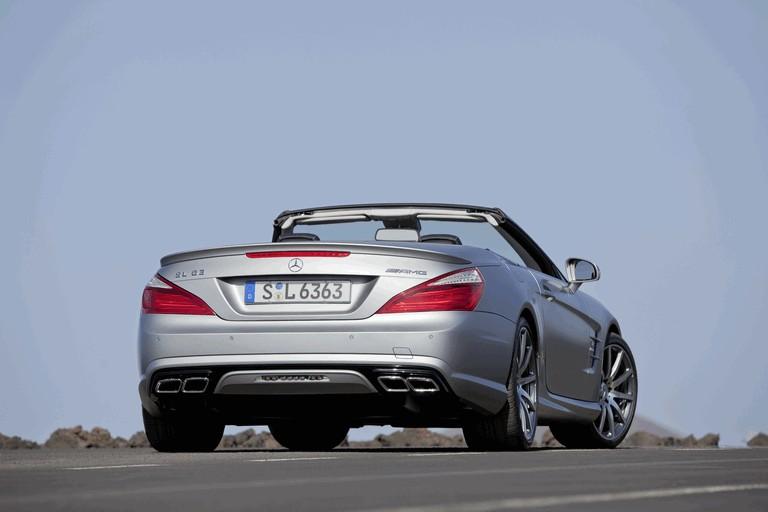 2012 Mercedes-Benz SL ( R231 ) 63 AMG 336392